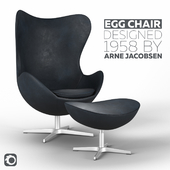 Egg Chair designed by Arne Jacobsen
