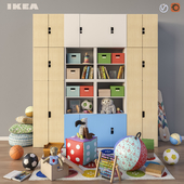 Modular furniture, accessories and toys IKEA set 3