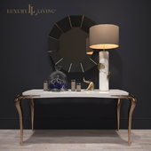 Contour console by Luxury Living