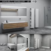 Bathroom furniture set Panta Rel 7
