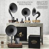 Restoration Hardware - Gramophone Set