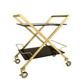 Serving table on wheels Vanshen