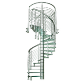 винтовая лестница sciria clarity