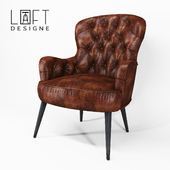 Loft design chair model 3856