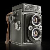 Microcord retro camera