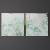 Set of contemporary art 10