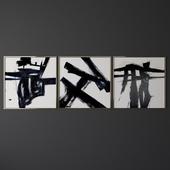 Set of contemporary art 13
