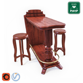 Bar stand for billiards