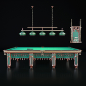 Billiard table 12 feet