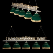 Billiard chandelier to the Renaissance Start table