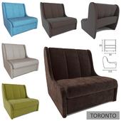 TORONTO Velvet Armchair