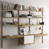 Shelf system Svalnas Ikea.