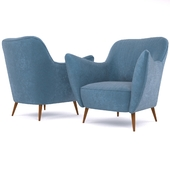 Guglielmo Veronesi Lounge Chair