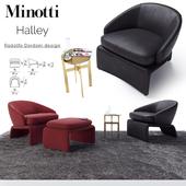 Halley Armchair / Minotti Halley
