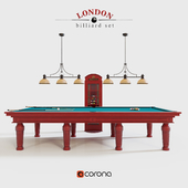 London billiard set