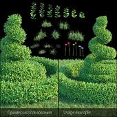 Set for landscaping 5 | Boxwood