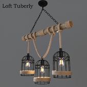 Ceiling chandelier Loft Tuberly