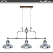 Chandelier for billiards 7834/3 Euro-light