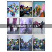 Paintings abstract | set 39