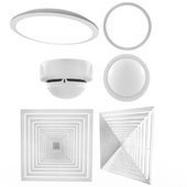 Electrical ceiling fittings
