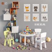 IKEA furniture, accessories, decor and toys set 4