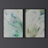 Set of contemporary art 14