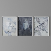 Set of abstract paintings 6