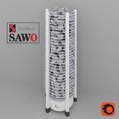 Sauna oven electric Sawo Tower Round