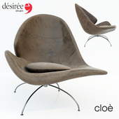 Cloe armchair by Desiree