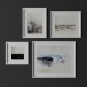 Set of contemporary art 15