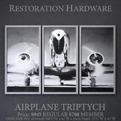 AIRPLANE TRIPTYCH