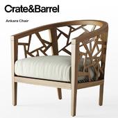 Crate and Barrel / Ankara Chair