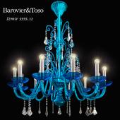 chandelier Barovier & Toso Izmir 5555/12