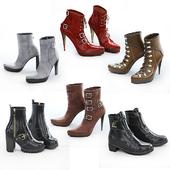 6 пар женской обуви - 2