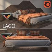 Air bed and floor cover Slide LAGO