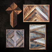 Wooden panel. Collection 48