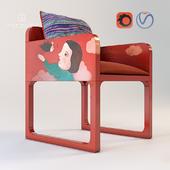 Chair upholstery Luisa Peixoto and Evelina Oliveira