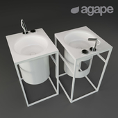 Agape Washbasins In-Out + CEA AST16 + AST20