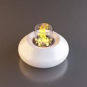 Planika Bubble Commerce Fireplace