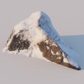 Зимняя скала