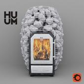 Печка на дровах для сауны Huum Hive Wood