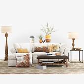 PB Air Collection Sofa Set