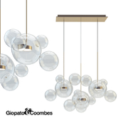 Giopato & Coombes Chandelier BTC14L-PE1-BRBC