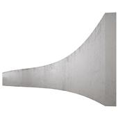Concrete texture 15m long
