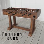 POTTERY BARN FOOSBALL TABLE