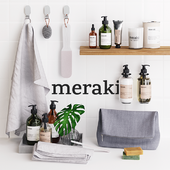 Meraki Bathroom Set
