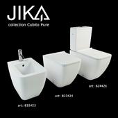 JIKA cubito pure floorstanding WC + BIDET