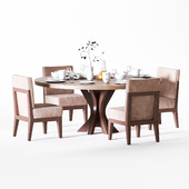 Siena chair and Star dinning table