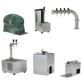 Beer equipment set 4