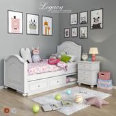 Комплект мебели и аксессуары для спальни Legacy Classic set 4